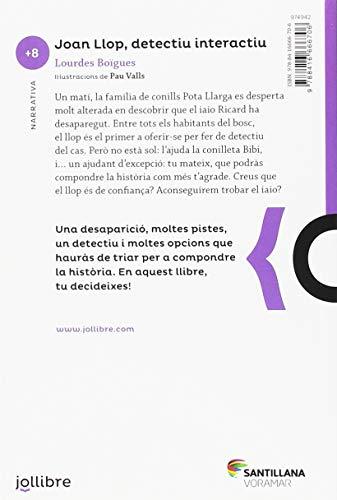Joan Llop, detectiu interactiu