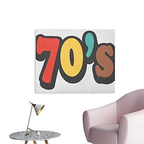 70s window decals - 8
