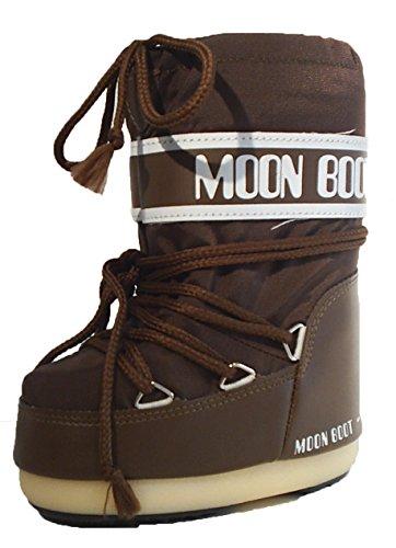 Damen Kinder Moonboots Moon Boot Boots Tecnica Stiefel braun
