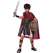 California Costumes Spartan Warrior Costume, One Color, 10-12