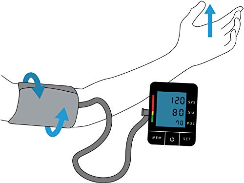 Blood Pressure Monitor BP Wizard Mayo Clinic Standard Large Cuffs