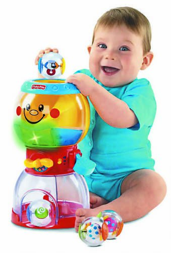 Fisher Price Roll-a-Rounds Swirlin Surprise (Gumball Machine Toys)