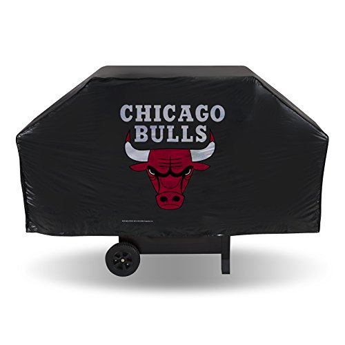 NBA Chicago Bulls Vinyl Grill Cover (Cover Team Grill Jersey)