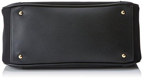 Braccialini Keira, Borsa a Spalla Donna, 34x32x14 cm (W x H x L) Nero