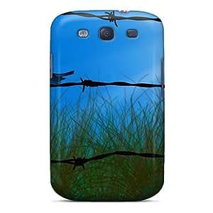 Defender Case For Galaxy S3, Field Fantasy Pattern