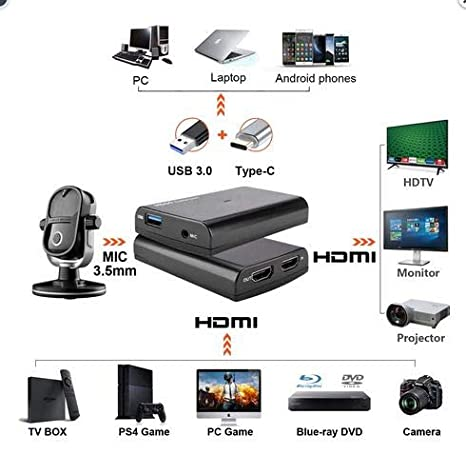 Computer Components Record up to 1080p 60fps HDMI to USB3.0 UVC ...