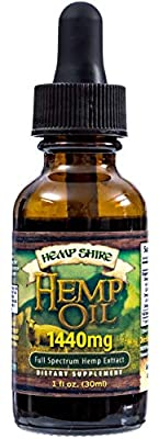 Hempshire Hempseed Oil 1440mg from 2Healthy