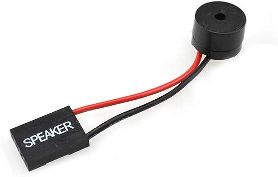 Boscoqo PC Motherboard Mini Speaker Beeper BIOS Alarm Buzzer Desktop for  Computer Case DIY Internal Code Mini Plug 8pcs