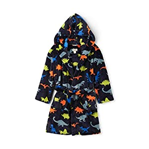 Hatley Boy's Fuzzy Fleece Robe Dressing Gown