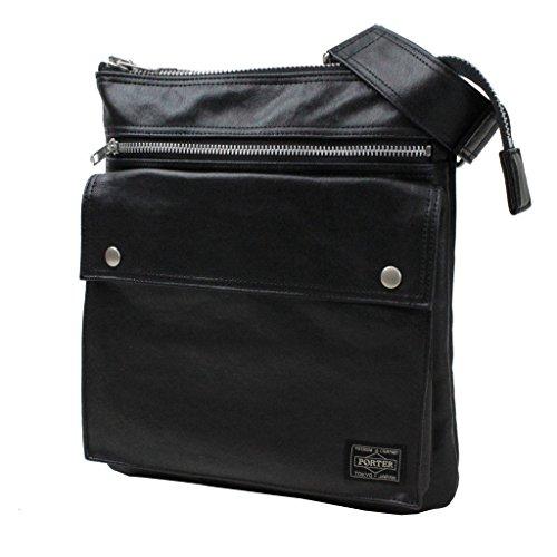 Yoshida Bag Porter Freestyle Vertical Type Shoulder Bag Black 707-07145 by Yoshida Bag