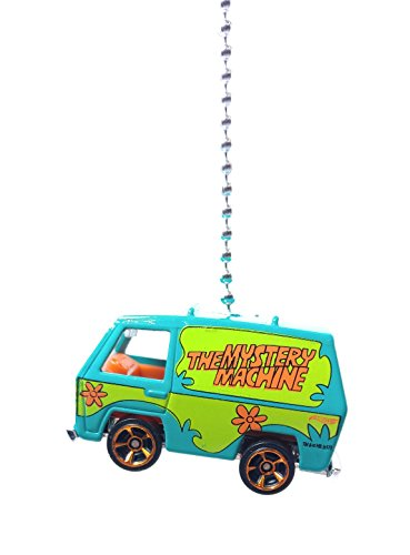 Hot Wheels Mystery Machine Scooby Doo - Die Cast ( The ONLY Original) Ornament, Pendant FAN PULL / LIGHT PULL