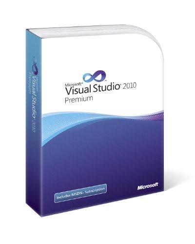 Visual Studio 2010 Premium with MSDN (Old Version)