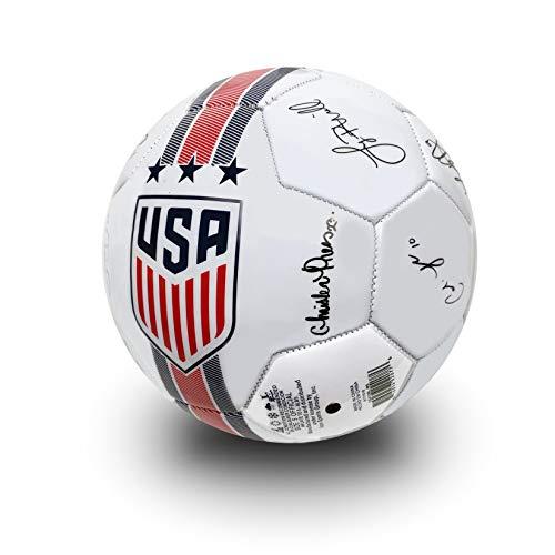 USA Soccer Ball Size 5, Official US Women's National Team Ball, USWNT Players Signature Ball (Alex Morgan Signature)
