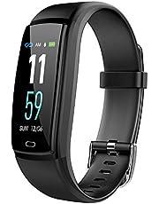 ساعة ذكية بمتتبع للياقة البدنية موديل واي 9، مزودة بمراقب لمعدل ضربات القلب وضغط الدم، تحتوي على بلوتوث، مقاومة للماء بدرجة اي بي اكس 7، شاشة ليد ملونة مقاس 0.96 بوصة