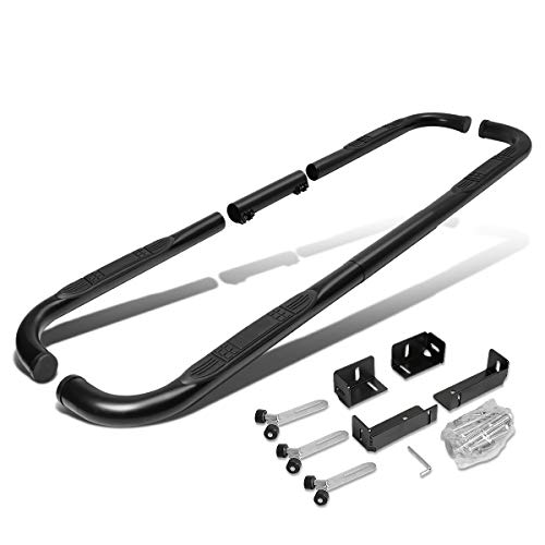 Chevrolet Tahoe Boards Running - Carbon Steel 3 inches Side Step Nerf Bar Running Board (Black)