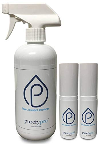 Amazon com: Purefypro Disinfectant Deep Cleaning Spray Set