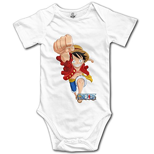 One Piece Anime Character Luffy Baby Onesie Baby Bodysuit]()