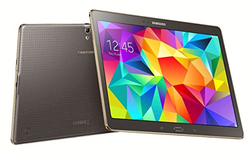 Samsung Galaxy Tab S 10.5 WiFi LTE T805 Unlocked Tablet - Titanium Bronze - International Version No Warranty, No US LTE support