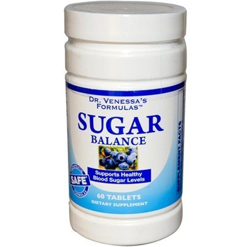 (Sugar Balance Support by Dr. Venessa's - 60 Tablets [Health and Beauty] by Dr.)