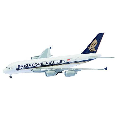 KOKUSAI BOEKI KAISHA, LTD 1/600 Scale Diecast Airplane Diecast Toy - Singapore Airlines A380-800 by KOKUSAI BOEKI KAISHA, LTD