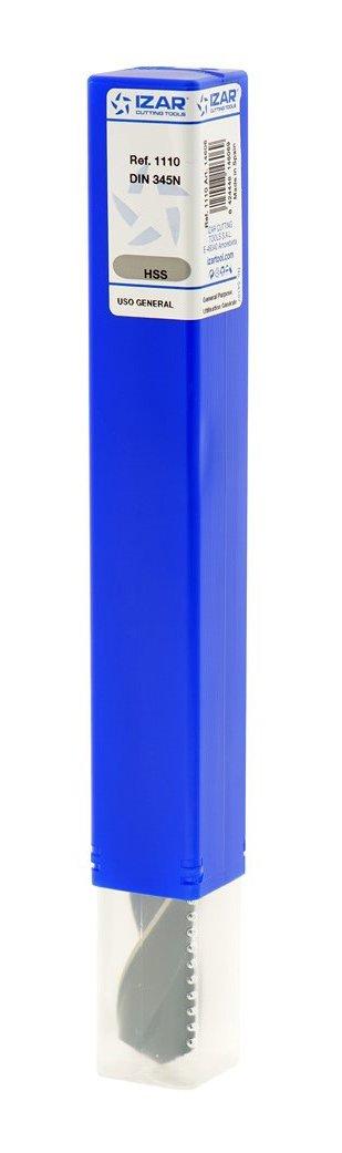 Broca para metal HSS DIN345N conica 20,00 mm Izar 14606