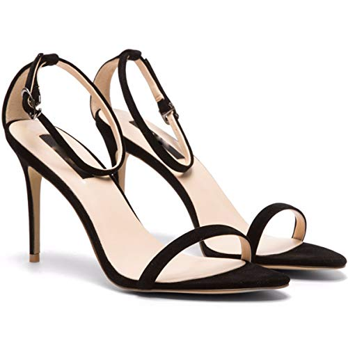 Façon Sexy Sandales Hauts Et Élégante Summer des Black Chaussures des Femmes pour De Simple Six Talons des Ceinture KPHY Chaussures Trente Côté q6I8w