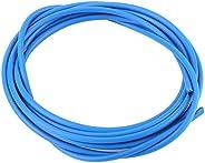 Bicycle Derailleur, Shifter Steel Cable Derailleur Line for Mountain Bike (Color : Blue)
