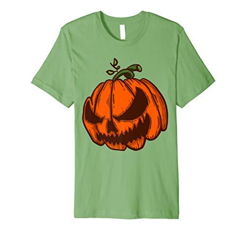 Spooky Halloween Pumpkin Tee | Jack-O-Lantern Shirt Gift -