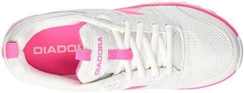 Rosa Bianco Diadora Damen Fluo 6 W Bianco Hawk Trainingsschuhe X0q6Xw