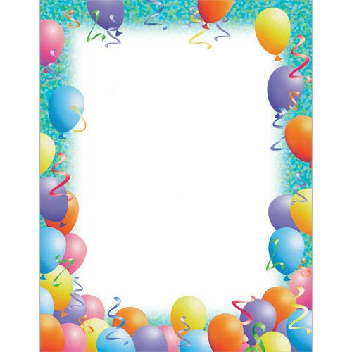 Party Stationery Set - 40 Sets of Matching Paper & Envelopes