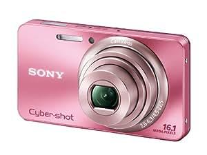 SONY Digital Camera Cybershot W570 16.10MPS CCD x5 Optical zoom Pink DSC-W570/P