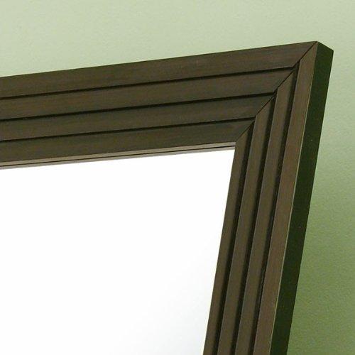 247SHOPATHOME Idi-12522 Soho Contemporary Floor Mirror, Cappuccino