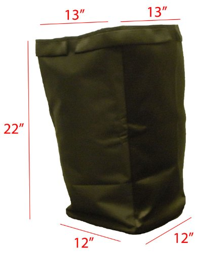 Snapper Rear Rider Twin replacement grass bag. Bag ONLY by Humboldt