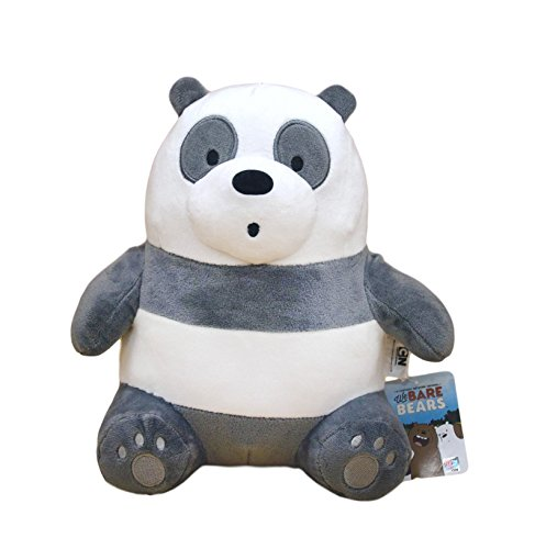 (We Bare Bears Cartoon Network Panda Plush Sitting Stuffed Animals Teddy Bear Gift 10