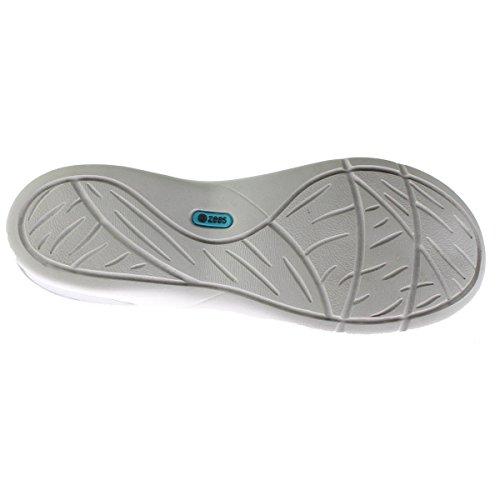Bzees Relax Slip-on Shoes Grigio Mosaico Stampato