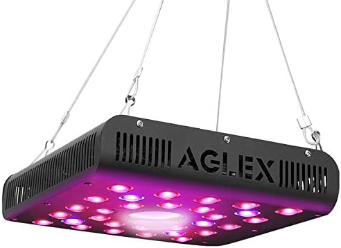COB 600W LED Grow Light – Full Spectrum LED Plant Grow Lamp with Daisy Chain Veg and Bloom Switch for Hydroponic Greenhouse Indoor Plant Veg and Flower
