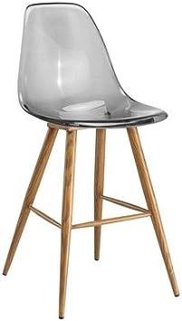 ZONS PLEXI Chaise Haute Transparent: : Cuisine & Maison