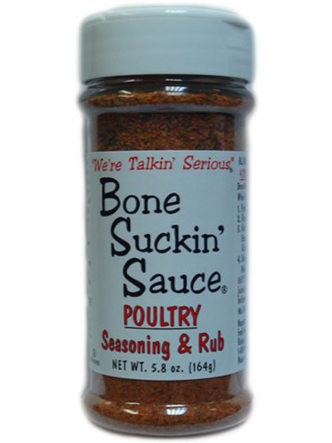 Bone Suckin' Sauce Poultry Rub, 5.8oz (Pack of 3)