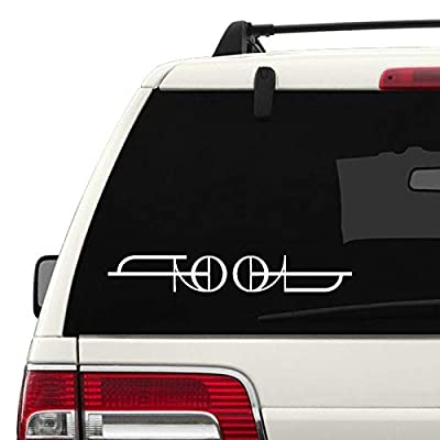 Tool Logo Decal - White 10 Inch Sticker - 2020: Automotive