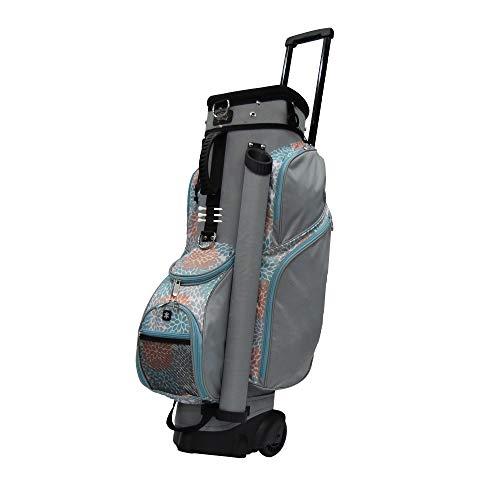 RJ Sports Spinner Transport Bag, Coral/Grey, 9.5