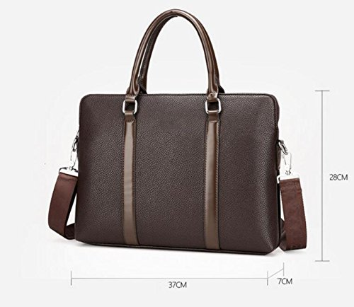 Package Computer Oblique Cross Brown1 Business Handbag Men's Bag Shoulder Briefcase Casual 7w17Eq
