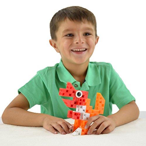bc78f24f8547 Click-A-Brick Dino Pals 30pc Building Blocks Set