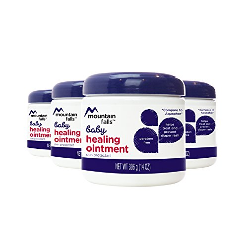 Mountain Falls Baby Healing Ointment for Diaper Rash, 14 Ounce (Pack of 4)