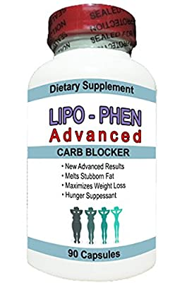 LIPO-PHEN ADVANCED -Increase Energy & Boost Metabolism-Burns Stubborn Belly Fat!