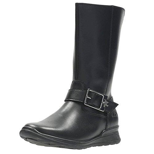 Clarks Marielstar Inf, Mädchen Stiefel & Stiefeletten  schwarz schwarz