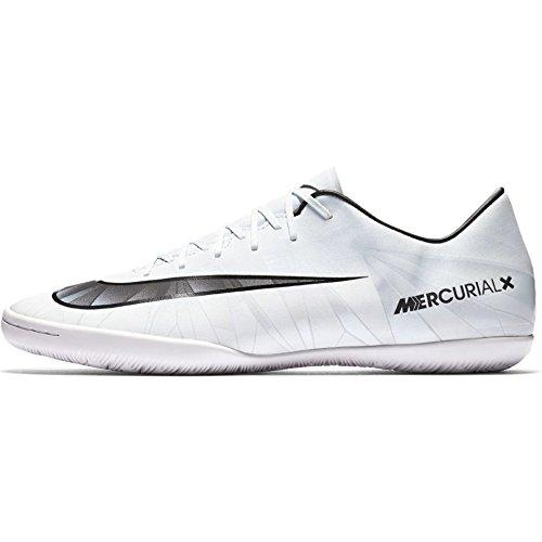 Nike Herren Kinder Après-Stiefel Jules Fußballschuhe Weiß (Teinte Bleue/blanc/teinte Bleue/noir)