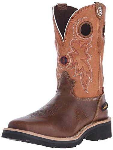 Tony Lama Men's RR3300 Boot,Tan Comanche,9.5 EE US