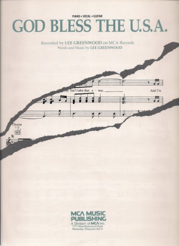 Mercomancha, S A  - Download God Bless the USA - Sheet Music book