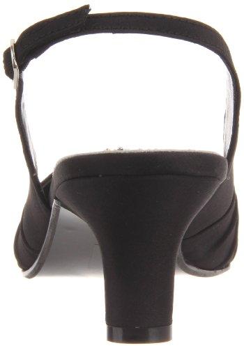 Dyeables Women's Ann Pump Black Satin mphy6RhZ