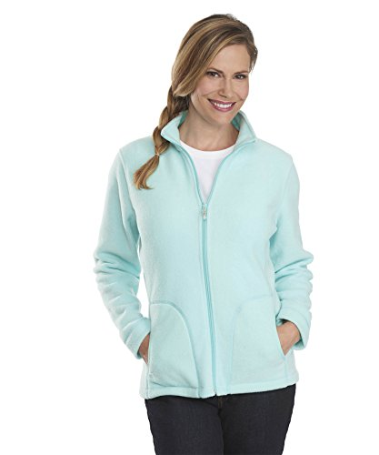 Woolrich Women's Andes Fleece Jacket (Medium, Robins Egg)